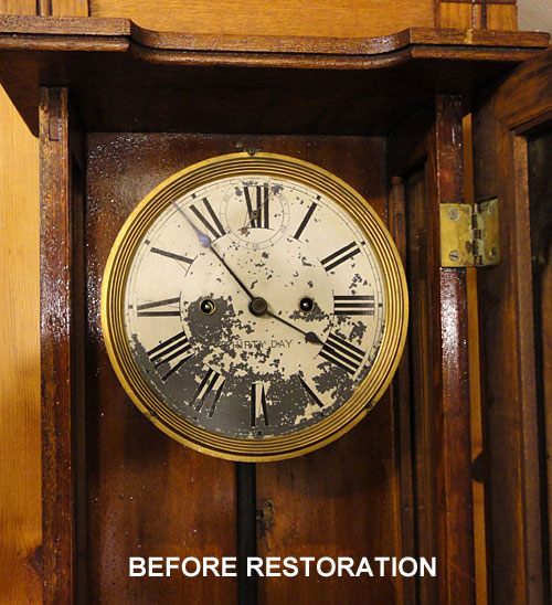 New Haven Clock Co Columbia 30 Day Wall Regulator Circa 1911