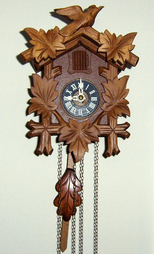 Unidentified Miniature Cuckoo Clock Circa Modern