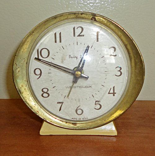 Quot Vintage Baby Ben Westclox Wind Up Alarm Clock Quot
