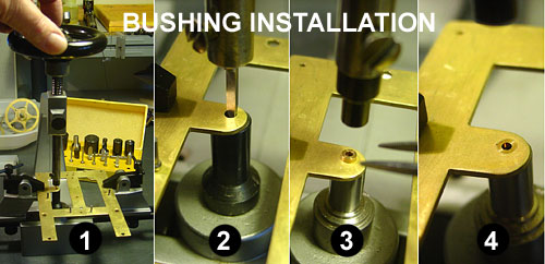 Bushing installation